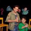 Ayushmann Khurrana and Sadhil Kapoor do a Kung Fu salute on Captain Tiao