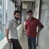 Jay Bhanushali and Sushant Singh chat during a Photo Shoot for Hate Story 2