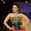 Ameesha Patel poses at the ramp
