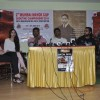 The cast of the film address the media at the Promotions of Desi Kattey