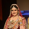 Zarine Khan walks the ramp at the IIJW 2014 - Day 2