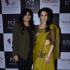Sagarika with her designer at IIJW 2014 - Day 2