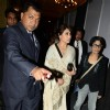 Rani Mukherjee arrives at the Indian Couture Week