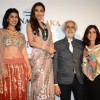 Nimrat Kaur and Malaika Arora Khan with Rina Dhaka at the Indian Couture Week - Day 2