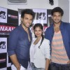 Rithvik, Raatan and Karan at the Press Meet of MTV Fannah