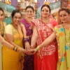 Manjula,Parul, Alpa, Jalpa and Rajeshwari looking happy