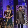 Bipasha Basu walks the ramp while Ankit Tiwari performs at the IIJW 2014 - Grand Finale