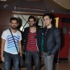 Akshay Oberoi poses with Bejoy Nambiar and Imran Khan at the Premier of Pizza 3D