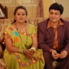 Sannat and Parul in the show Hamari Devrani