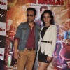 Humaima Malik pose with Emraan Hashmi at the Trailer Launch of Raja Natwarlal