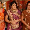 Manjula, Parul and Alpa looking sad