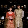 Alia Bhatt and Aditya Roy Kapur looked hot in Manish Malhotra outfits