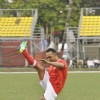 Rahul Bose Preparing himself for football match at Charity Football Match