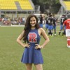 Elli Avram at Charity Football Match
