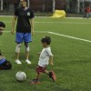 Azad playing football with his mom Kiran Rao and Abhishek Bachchan