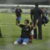 Kiran Rao poses with her son Azad at Charity Football Match