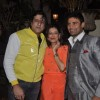 Armaan Kohli poses with Payal Rohatgi and Sangram Singh