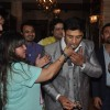 Dolly Bindra feeding Birthday Cake to Sangram