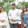 Kavita Kaushik and Tanisha Singh with MLA Aslam Shaikh at the Tree Plantation Drive