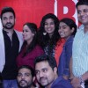 The team of Amit Sahni Ki List is all smiles at the RED FM studios Pune