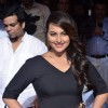 Sonakshi Sinha poses for the media at Jehangir Art Gallery