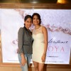 Parvathy Omanakuttan with a friend at the Special Screening of Pizza 3D