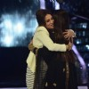 Madhuri and Rani were seen hugging on Jhalak Dikhla Jaa