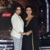 Madhuri and Rani pose for the camera on Jhalak Dikhla Jaa