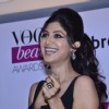 Shilpa Shetty was smiles at the Vogue Beauty Awards