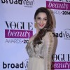 Kiara Advani poses for the media at the Vogue Beauty Awards