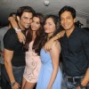 Birthday girl Madhura Naik poses with friends