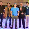 Salman Khan with the cast of C.I.D