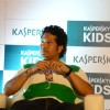 Sachin Tendulkar was spotted at the Launch of Kaspersky Kids Awareness Program