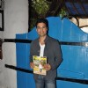 Rajeev Khandelwal poses with the magazine for the media