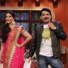 Sonam Kapoor and Kapil perform a comedy act