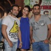 Emraan Hashmi, Humaima Malick and Director Kunal Deshmukhat the Press Meet of Raja Natwarlal