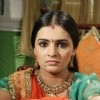 Bhakti looking sad