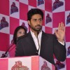 Abhishek Bachchan addressing the audience