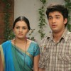 A still of Mohan and Bhakti