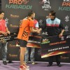 Amitabh Bachchan congratulautes an achiever at the  Pro Kabbadi League