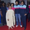 The Bachchan family at Pro Kabbadi League