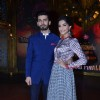 Sonam Kapoor and Fawad Khan pose for the media at the Promotion of Khoobsurat