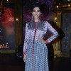 Sonam Kapoor poses for the media at Promotion of Khoobsurat on Entertainment Ke Liye Kuch Bhi Karega