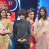 Rohhit Verma walking the ramp with Monika Gill and Reema Patel