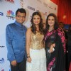 Aneel Murarka with Parineeti Chopra and Poonam Dhillon at International Indian Achiever's Award 2014