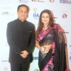Rana Kapoor with Poonam Dhillon at International Indian Achiever's Award 2014