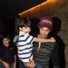 Hrithik snapped at LightBox with his kid, for a Movie Screening
