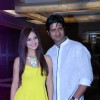Manish Chaudhary with Suzanna Mukherjee at the Music Launch of Trip to Bhangarh