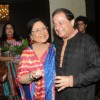 Tabbasum poses with Anup Jalota at his Birthday Celebration