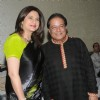Kunica poses with Anup Jalota at his Birthday Celebration